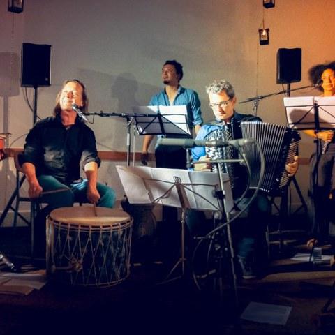 Concert d'Organik Orkeztra au Boucau