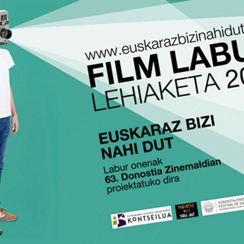 """Concours de courts-métrages """"Euskaraz bizi nahi dut"""""""