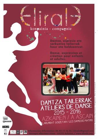 Danse, expression et création pour enfants et adultes