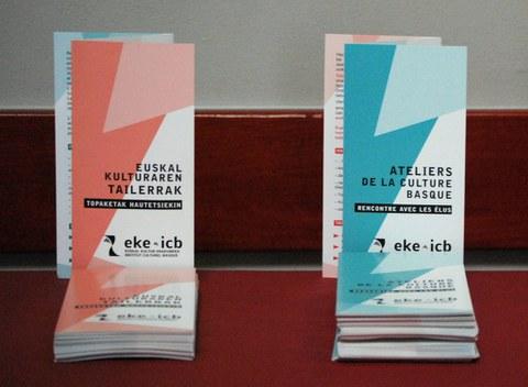 Des ateliers sur le thème de la culture basque proposés aux élus