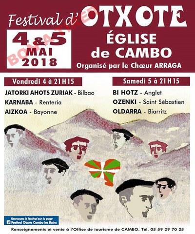Festival d'Otxote à Cambo
