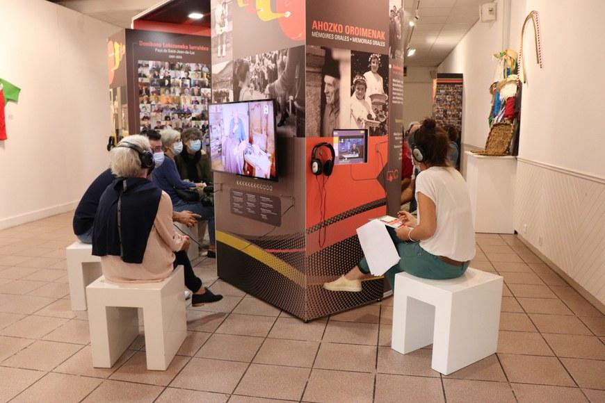 L'exposition telle que présentée à Saint-Jean-de-Luz © ICB