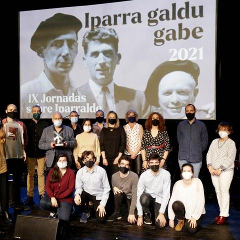 Iparra galdu gabe : le rendez-vous des artistes d'Iparralde à Getxo