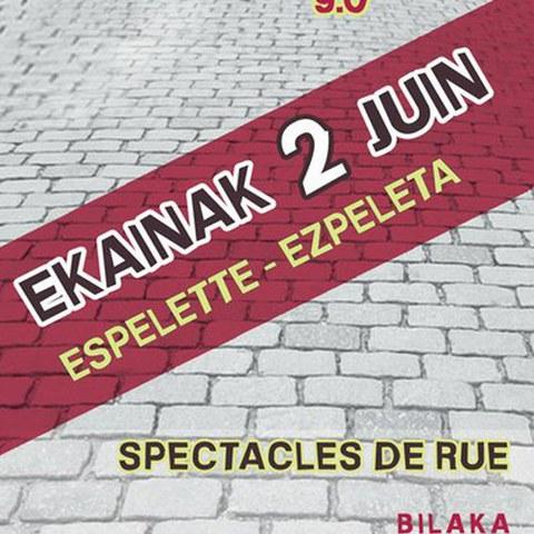 9ème édition du festival Jokoz Kanpo à Espelette