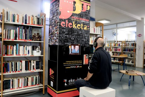 L'ICB met à disposition un kiosque multimédia de la mémoire collective