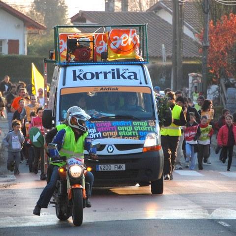 L'arrivée de la 18ème Korrika attendue à Bayonne