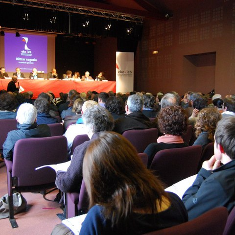 L'assemblée générale ordinaire 2014 de l'Institut culturel basque