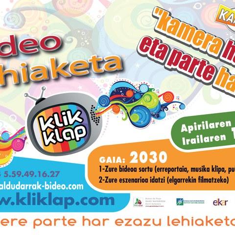 Le concours vidéo Kliklap 2012