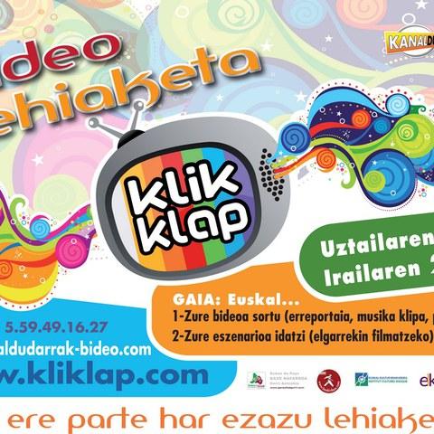 Le concours vidéo Kliklap