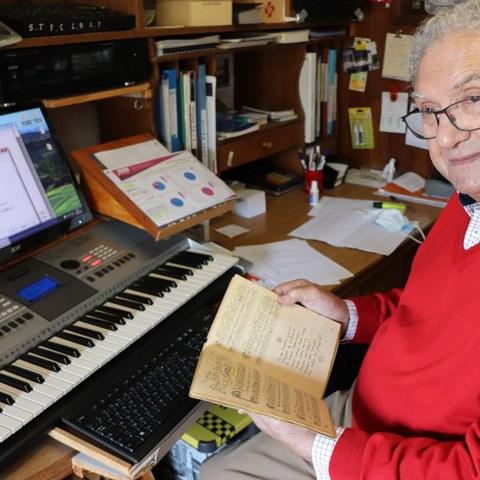 """Le recueil de partitions """"Airez-aire"""" d'Alexandre Lesbordes retranscrit pour tous les amateurs de chant choral"""