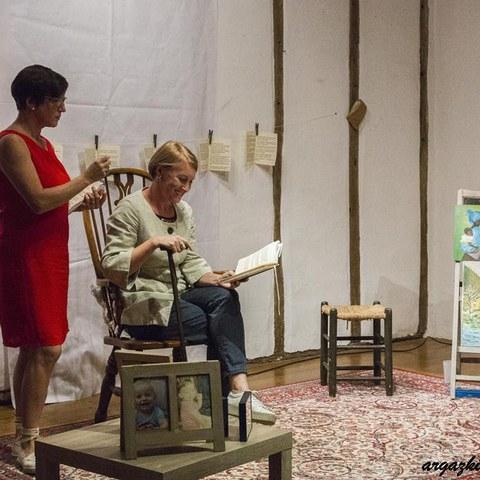 """Le spectacle """"Oroitzen naizeino"""" présenté à Biarritz"""