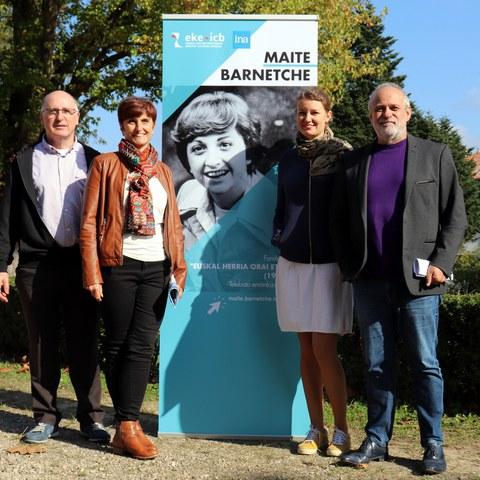 Les trésors de la journaliste Maite Barnetche consultables à l'ICB