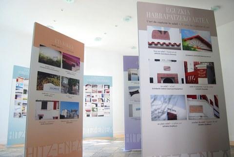 L'exposition Hitz-Enea à Donostia