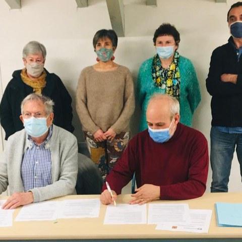 L'ICB signe une convention de partenariat pluriannuelle avec la Ville d'Ascain