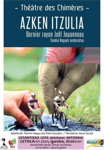 "Présentation de la pièce ""Azken itzulia"" à Ustaritz"
