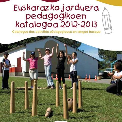 Publication du catalogue des activités en langue basque