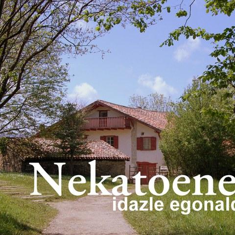 """Résidence d'écrivain basque 2018 à """"Nekatoenea"""""""
