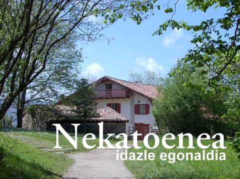 Résidence d'écrivain basque 2015 à Nekatoenea