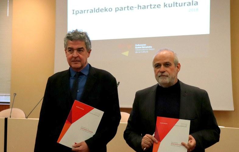 Résultats de l'enquête sur les pratiques culturelles en Iparralde