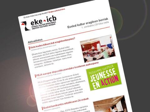 Une nouvelle lettre d'information pour les acteurs culturels basques