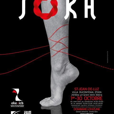 """L'exposition """"SOKA, regards sur la danse basque"""" à Saint-Jean-de-Luz"""