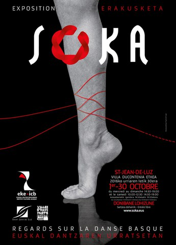 "L'exposition ""SOKA, regards sur la danse basque"" à Saint-Jean-de-Luz"