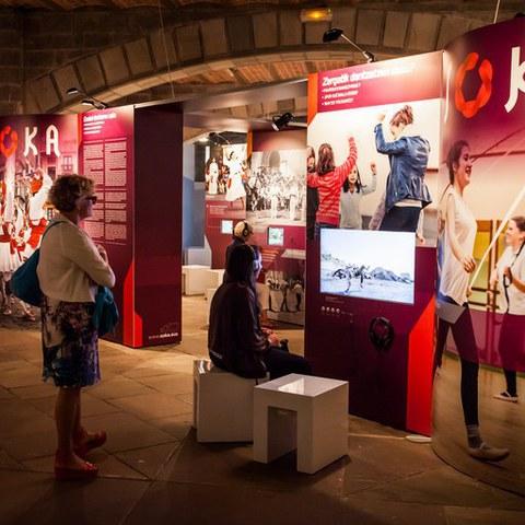 """L'exposition """"SOKA, regards sur la danse basque"""" à Vitoria-Gasteiz"""