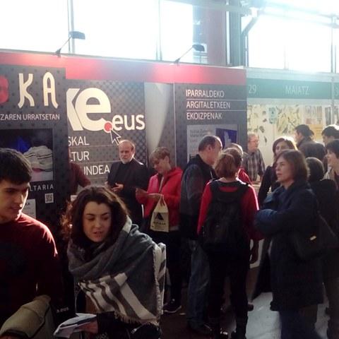 Promotion de l'expo SOKA au Salon de Durango