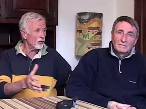 Henri Uhaldeborde et Peio Jaury