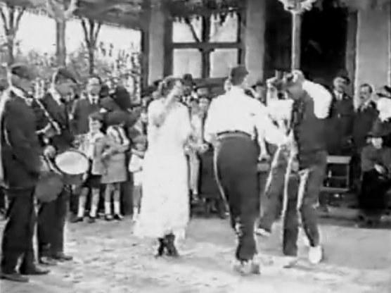Fête basque à Montevideo (Uruguay) en 1923