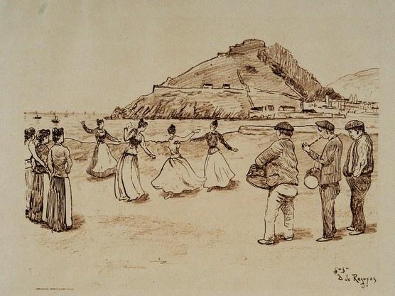 Victor Hugo et le fandango