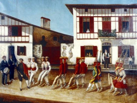 Danseurs et cortège dansé d'Ustaritz (≈1906)