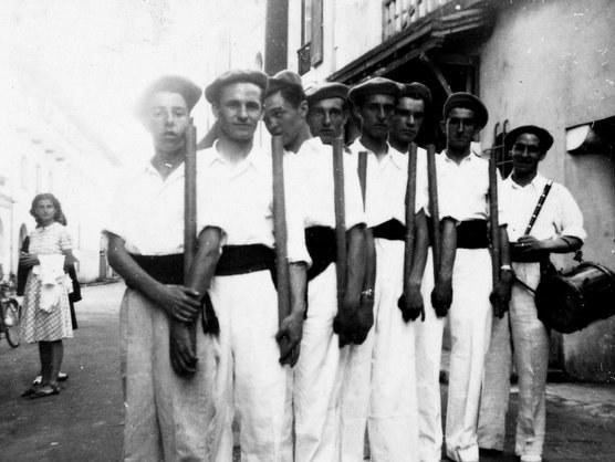 Groupe Olaeta à Bayonne (1939)