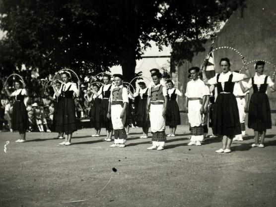 Groupe Olaeta à Espelette (1942)