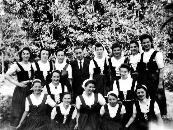 Groupe préparé par Olaeta à St-Jean-de-Luz (1941)