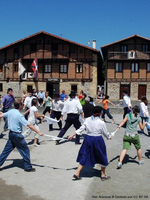 Danse et contextes protocolaires civils au Pays Basque sud : transformations