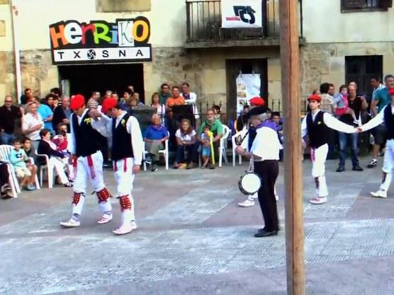 Erregelak à Berriz (Biscaye)