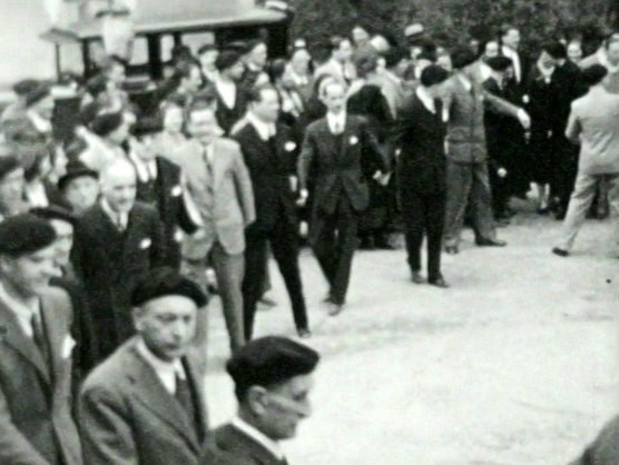 Soka-dantza (danse en chaîne) à Sukarrieta (Biscaye, années 1930)