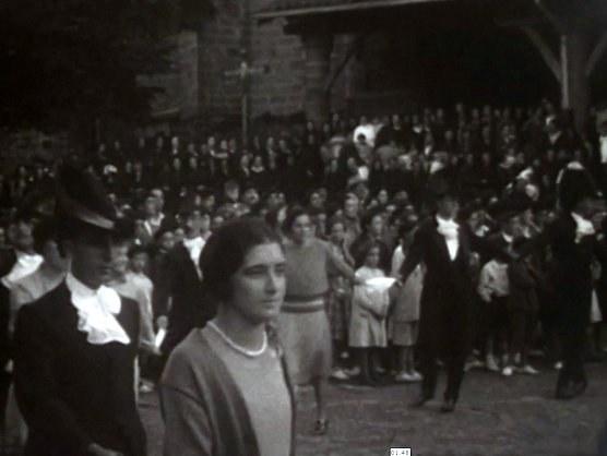 """""""Errebonbilloak"""" à Elorrio, Biscaye (1920)"""