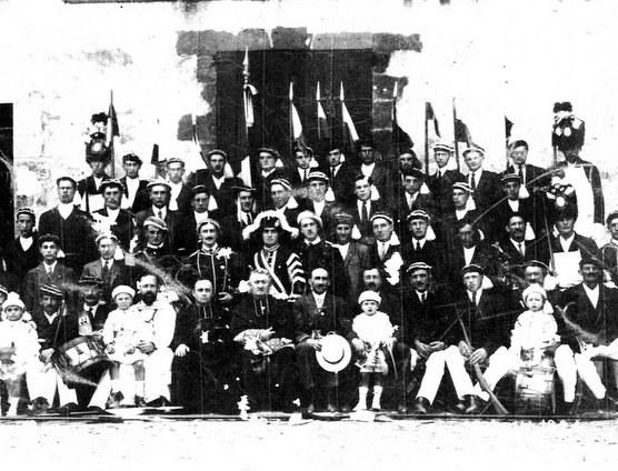 Fête-Dieu à Espelette (1924 et vers 1946-1950)