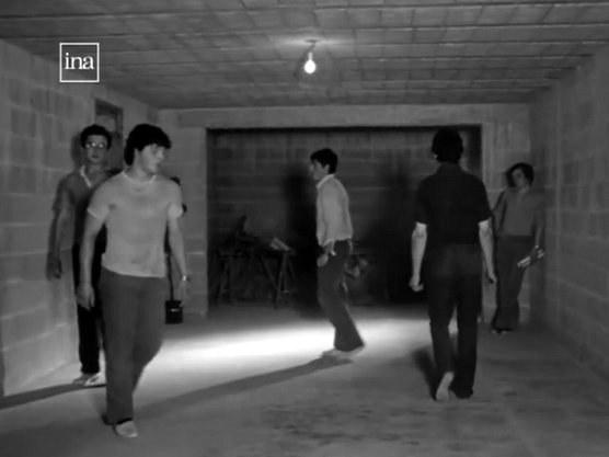 Répétition de danseurs à Pagolle (1982)